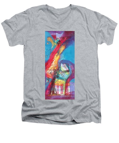 beauty of nature XII Men's V-Neck T-Shirt by Sanjay Punekar