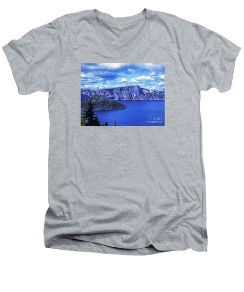 Men's V-Neck T-Shirt featuring the photograph Beauty Skin Deep by Nancy Marie Ricketts