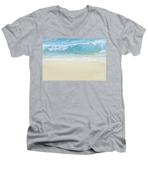 Men's V-Neck T-Shirt featuring the photograph Beauty Surrounds Us by Sharon Mau