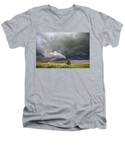 Beauty Within Darkness Men's V-Neck T-Shirt