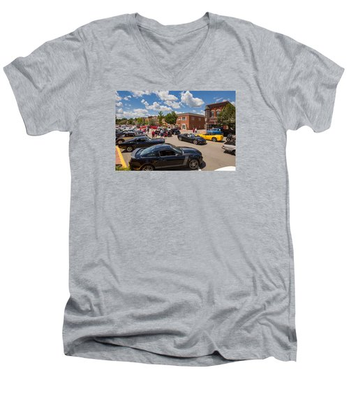 Beaver Pa 1 Men's V-Neck T-Shirt