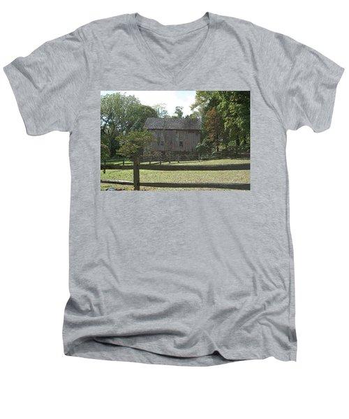 Bedford Barn Men's V-Neck T-Shirt