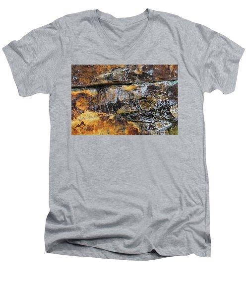 Bedrock Men's V-Neck T-Shirt