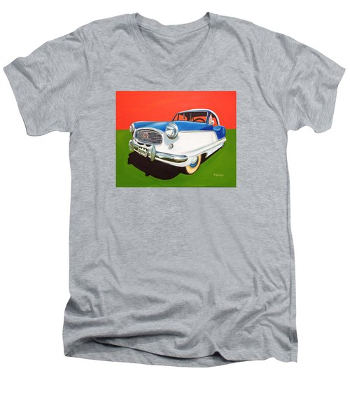 Beep Beep Men's V-Neck T-Shirt