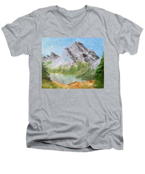 Bee's Eyed View Men's V-Neck T-Shirt