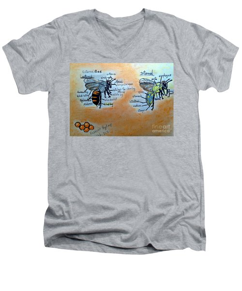 Bees  Men's V-Neck T-Shirt