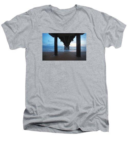 Before The Dawn Men's V-Neck T-Shirt by Robert Och