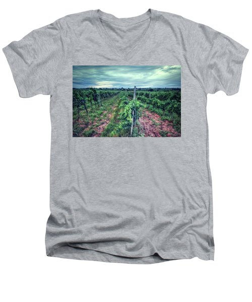Before The Harvesting Men's V-Neck T-Shirt