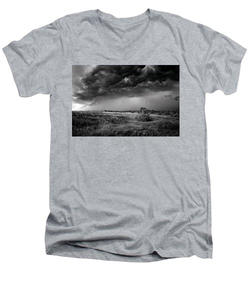 Beginning Men's V-Neck T-Shirt