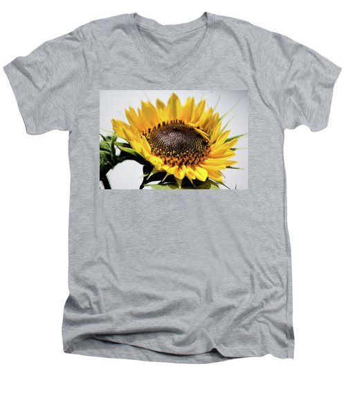 Beginning To Bloom Men's V-Neck T-Shirt by Ed Waldrop