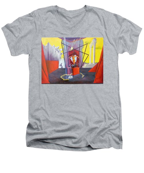 Beginning To End Men's V-Neck T-Shirt