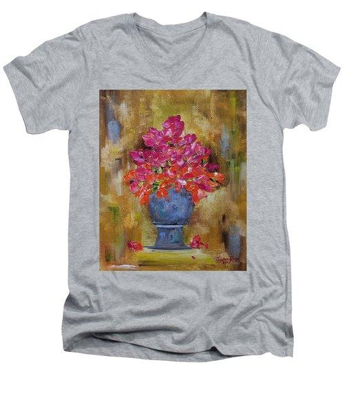 Begonia Justice Men's V-Neck T-Shirt