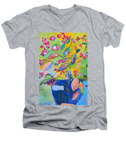 Begonias Men's V-Neck T-Shirt