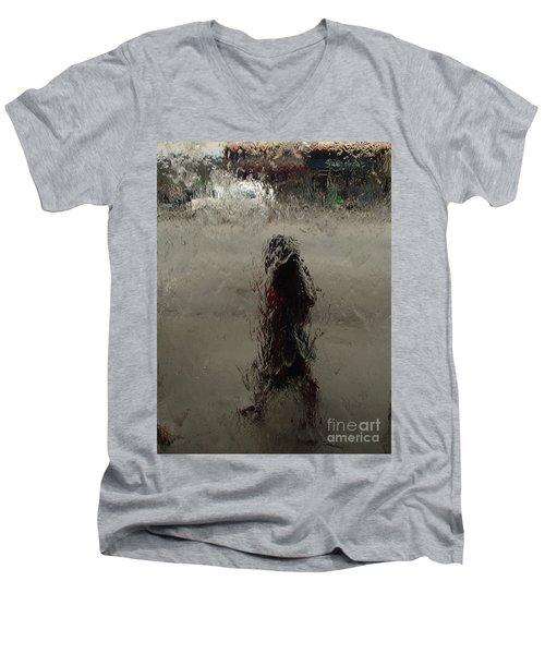 Behind Glass Men's V-Neck T-Shirt