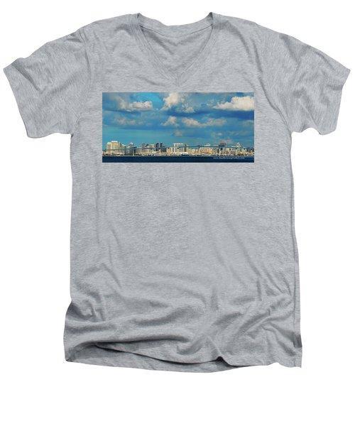 Behind The Bridge Men's V-Neck T-Shirt
