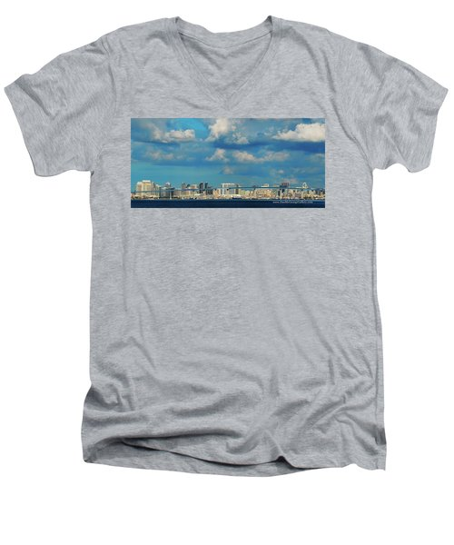 Behind The Bridge Men's V-Neck T-Shirt