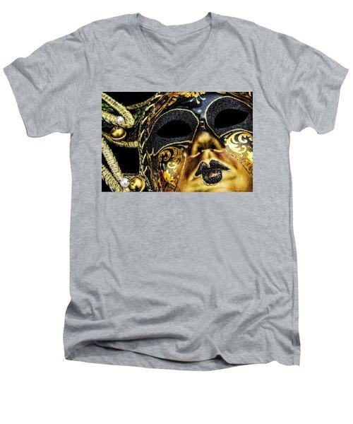 Behind The Mask Men's V-Neck T-Shirt