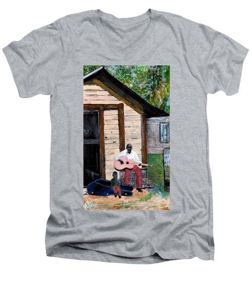 Behind The Old House Men's V-Neck T-Shirt