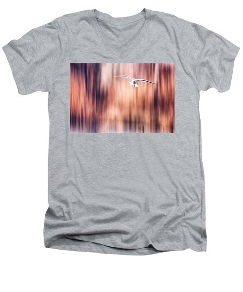 Behind The Trees 2 Men's V-Neck T-Shirt