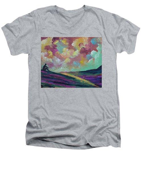 Being Men's V-Neck T-Shirt
