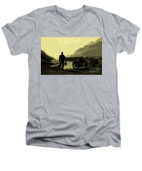 Being In The Movie II Men's V-Neck T-Shirt