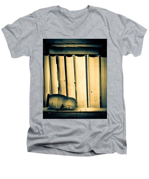 Being John Malkovich Men's V-Neck T-Shirt by Bob Orsillo