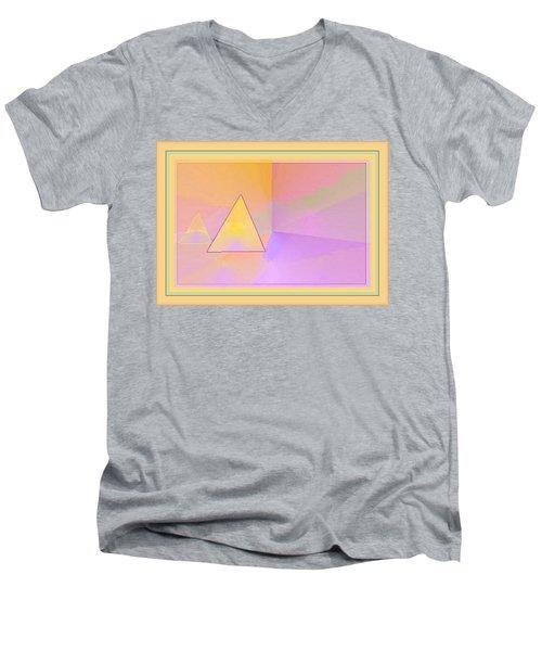 Beings Of Light Portal Men's V-Neck T-Shirt