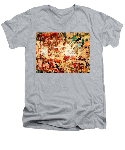 Beirut Funky Wall Art  Men's V-Neck T-Shirt