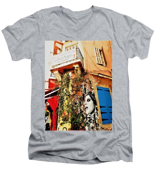 Beirut Home Tagged With Fayrouz Men's V-Neck T-Shirt