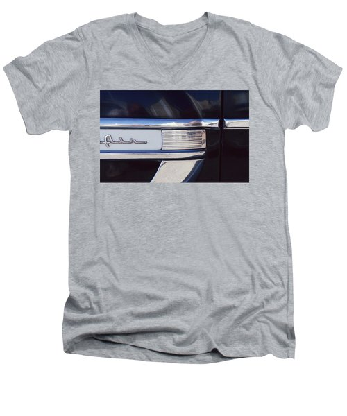 Men's V-Neck T-Shirt featuring the photograph Belair by Laurie Stewart