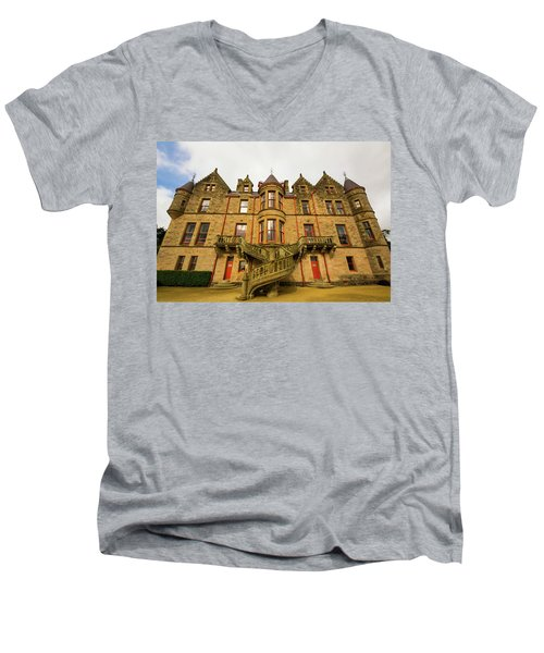 Belfast Castle Men's V-Neck T-Shirt