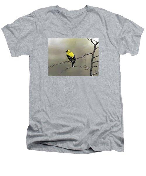 Believe In Yourself Men's V-Neck T-Shirt