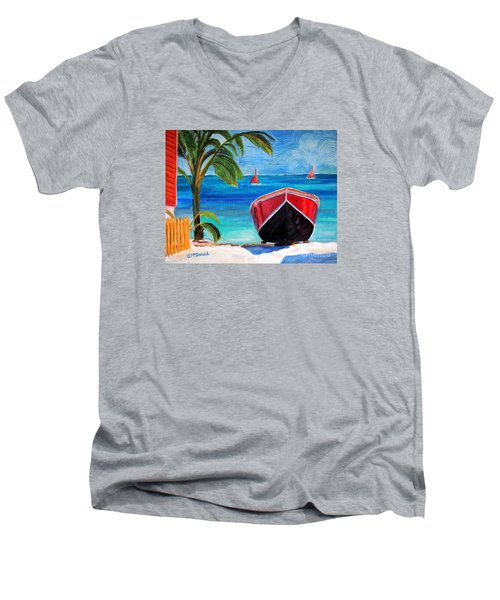 Belizean Dream Men's V-Neck T-Shirt