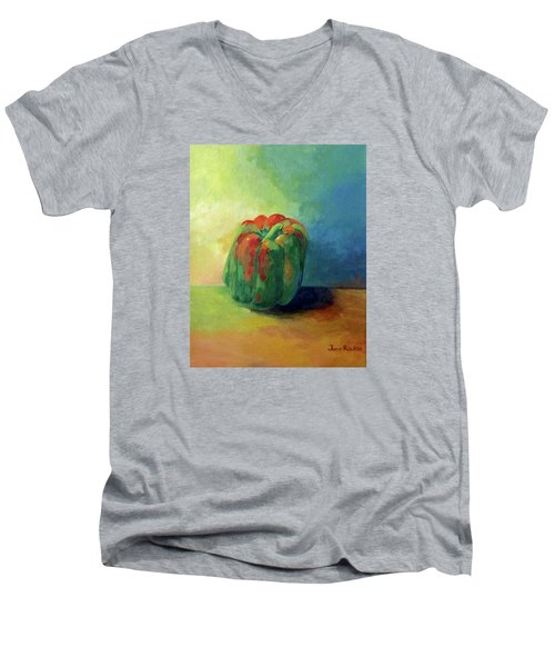 Bella Pepper  Men's V-Neck T-Shirt