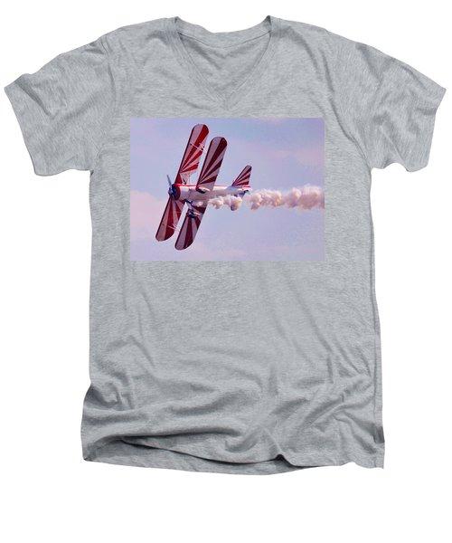 Belly Of A Biplane Men's V-Neck T-Shirt