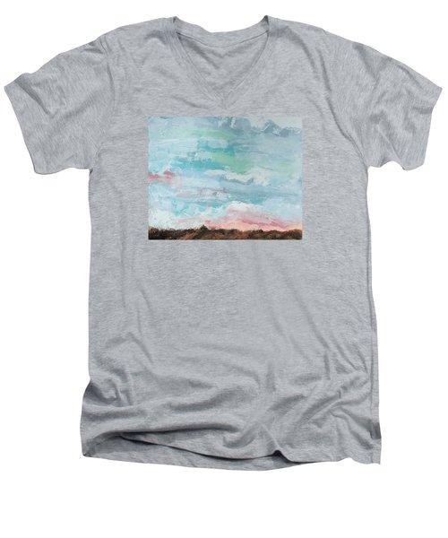 Beloved Men's V-Neck T-Shirt by Nathan Rhoads