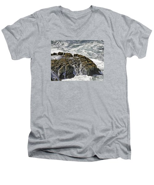 Below Salmon Creek Men's V-Neck T-Shirt