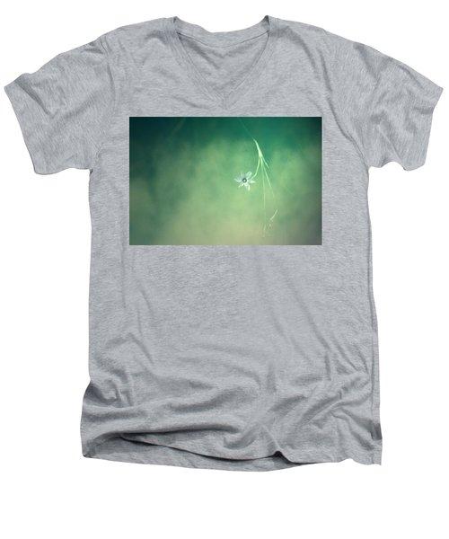 Below Summer  Men's V-Neck T-Shirt by Mark Ross