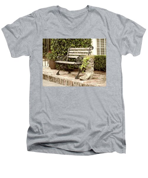 Bench And Boot 2 Men's V-Neck T-Shirt