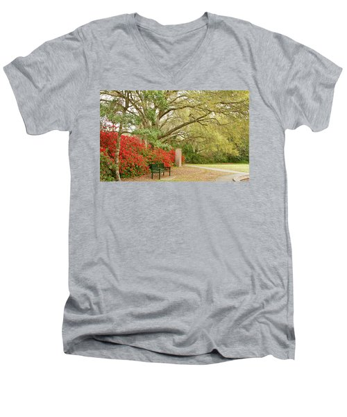 Bench Men's V-Neck T-Shirt