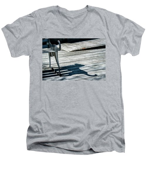 Bench Shadow Men's V-Neck T-Shirt