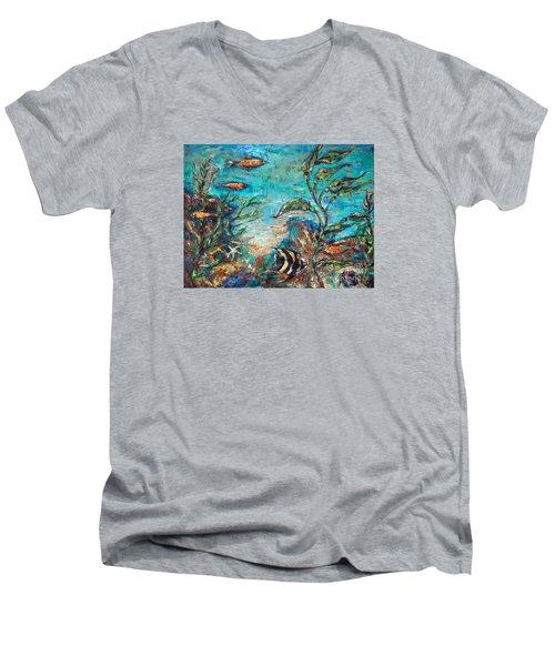 Beneath The Waves Men's V-Neck T-Shirt
