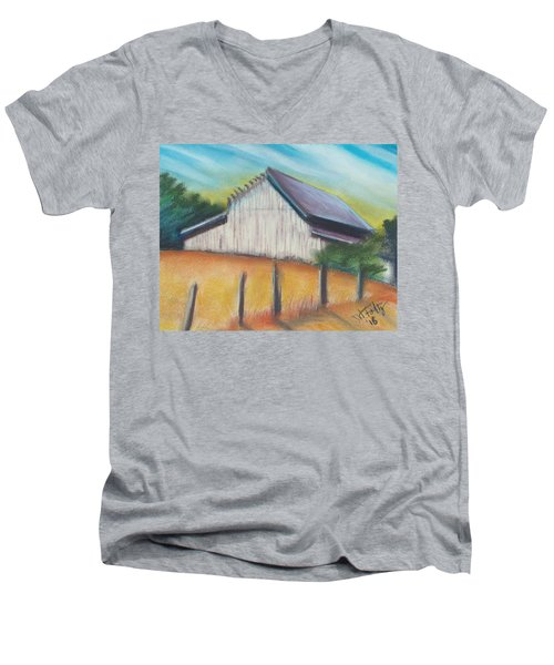 Benito Barn Men's V-Neck T-Shirt