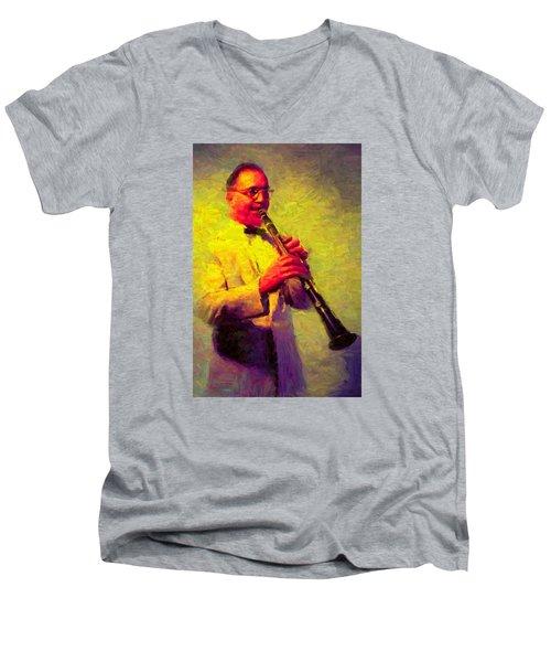 Benny Goodman Men's V-Neck T-Shirt