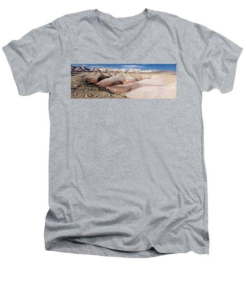 Bentonite Mounds Men's V-Neck T-Shirt
