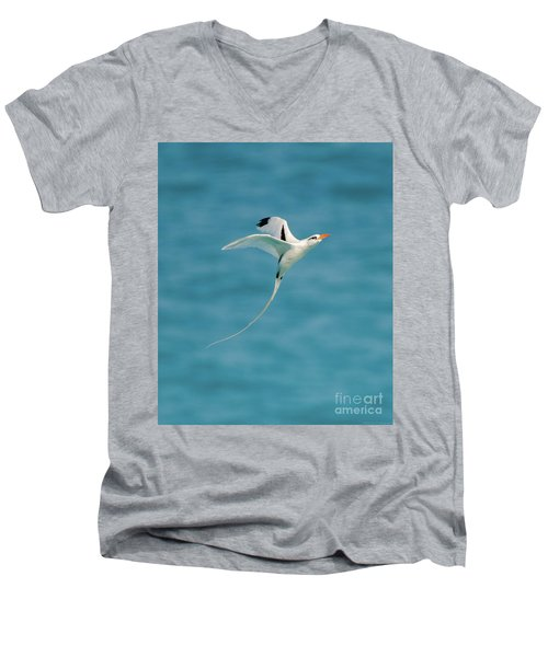 Bermuda Longtail S Curve Men's V-Neck T-Shirt by Jeff at JSJ Photography