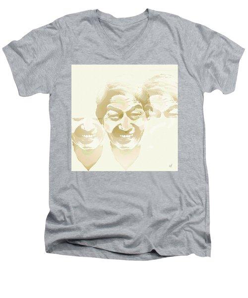 Beside Himself Men's V-Neck T-Shirt