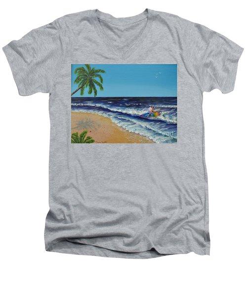 Best Day Ever Men's V-Neck T-Shirt