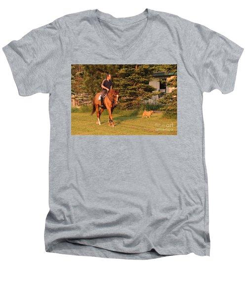 Best Friends Men's V-Neck T-Shirt