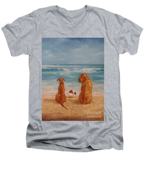Best Friends Men's V-Neck T-Shirt